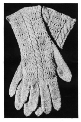 Product picture Ladies Knitted Gloves w/ Fancy Backs