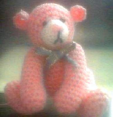 Product picture MONIQUE - Miniature TEDDY BEAR Crochet Pattern