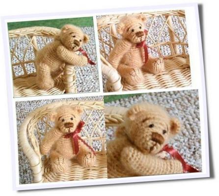 Product picture BROWN SUGAR *** Thread Crochet Bear Pattern by Edith Molina
