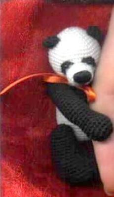 Product picture CHAPUR Panda *** Thread Crochet Bear Pattern by Edith Molina